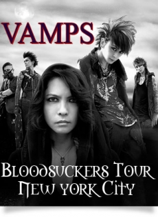 VAMPS Bloodsuckers Tour coming to NYC