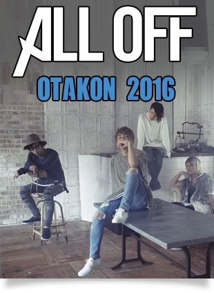ALL OFF to play at OTAKON 2016